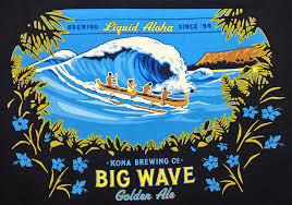 Logo for Big Wave beer